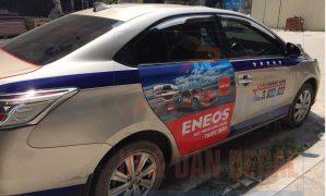 Dự án dán quảng cáo trên 100 xe taxi Quảng Ninh
